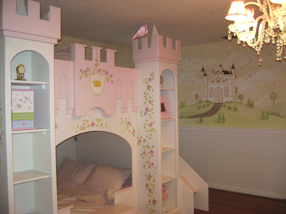 Castle-Princess-Bedroom-Theme-Decor-Ideas
