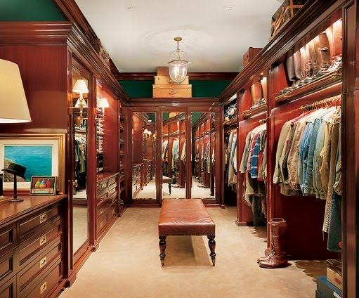 ralph lauren closet dressing room arch digest