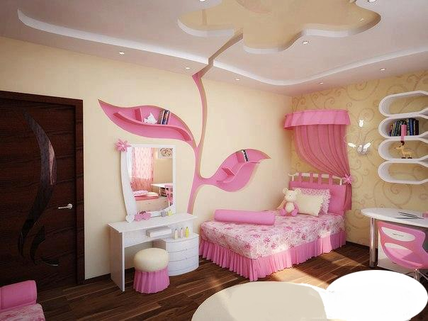بالصور جبس امبورد غرف نوم small bedroom design ideas with gypsum ceiling1