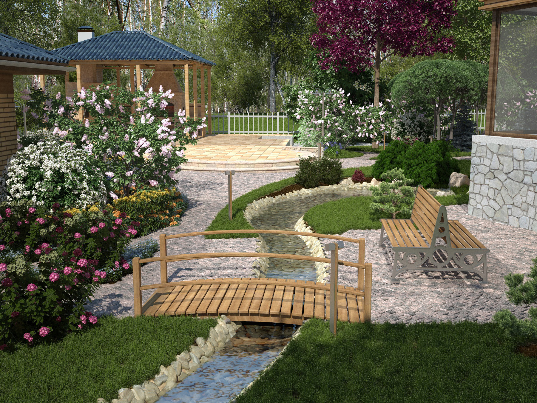 for Best backyard garden designs