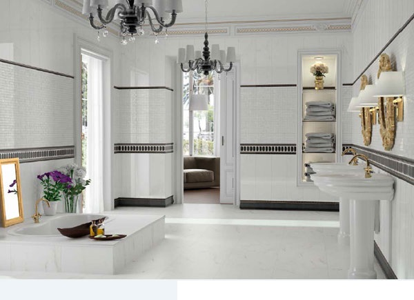 18 for Monochrome bathroom designs